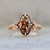 Whiskey Dreams Moval Rose Cut Diamond Ring