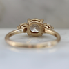 Sophie Icey Diamond Three Stone Ring in Yellow Gold