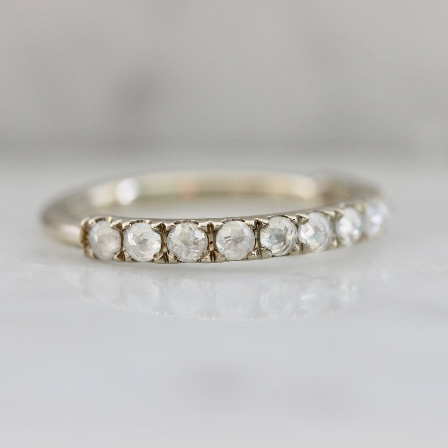 Keats Icy Rose Cut Diamond Band
