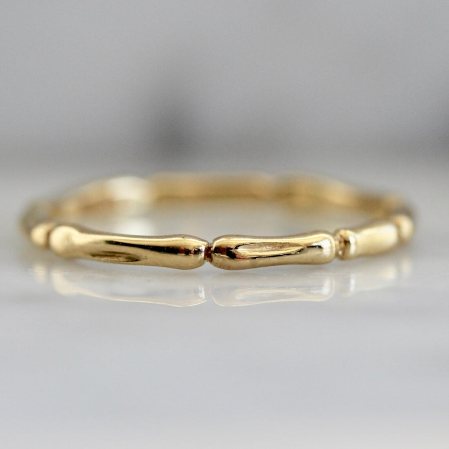 Bamboo Fine Gold Band