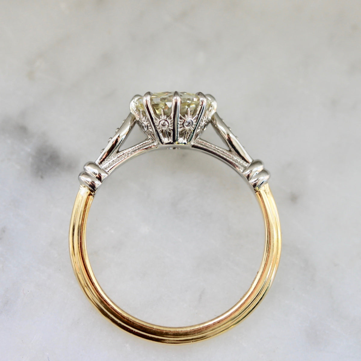 Jubilee Old European Cut Diamond Ring