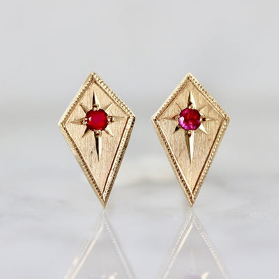Ruby & Kite Gold Earrings