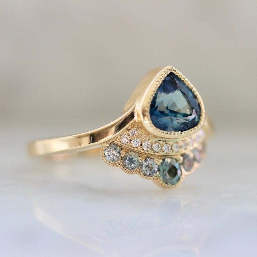 Ariel Sapphire Delight Mermaid Ring
