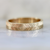 4mm Follow Your Heart Wheat Engraved Band