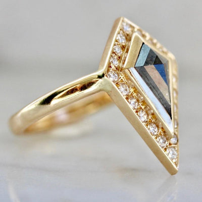 Army Of Rokosz Ring 6.25 Sasha Fierce Black Diamond Kite