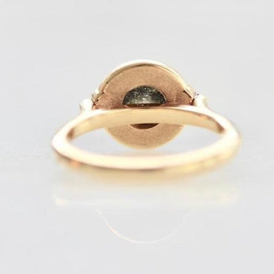 Emily Gill Ring Isabella Enamel Diamond Ring