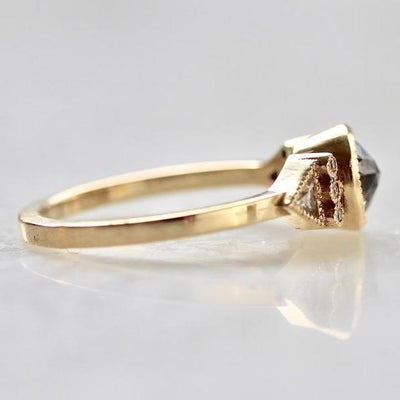 Emily Gill Ring Leilah Rose Cut Diamond Ring Ring