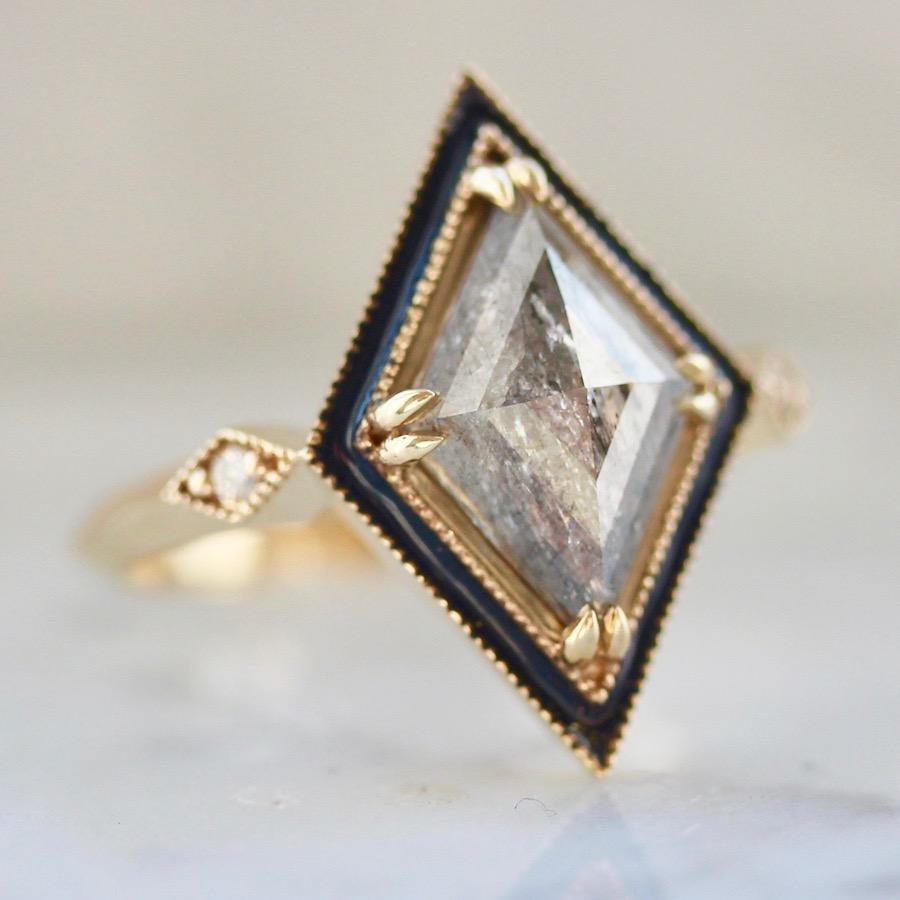 Emily Gill Ring Monroe Kite Diamond Ring