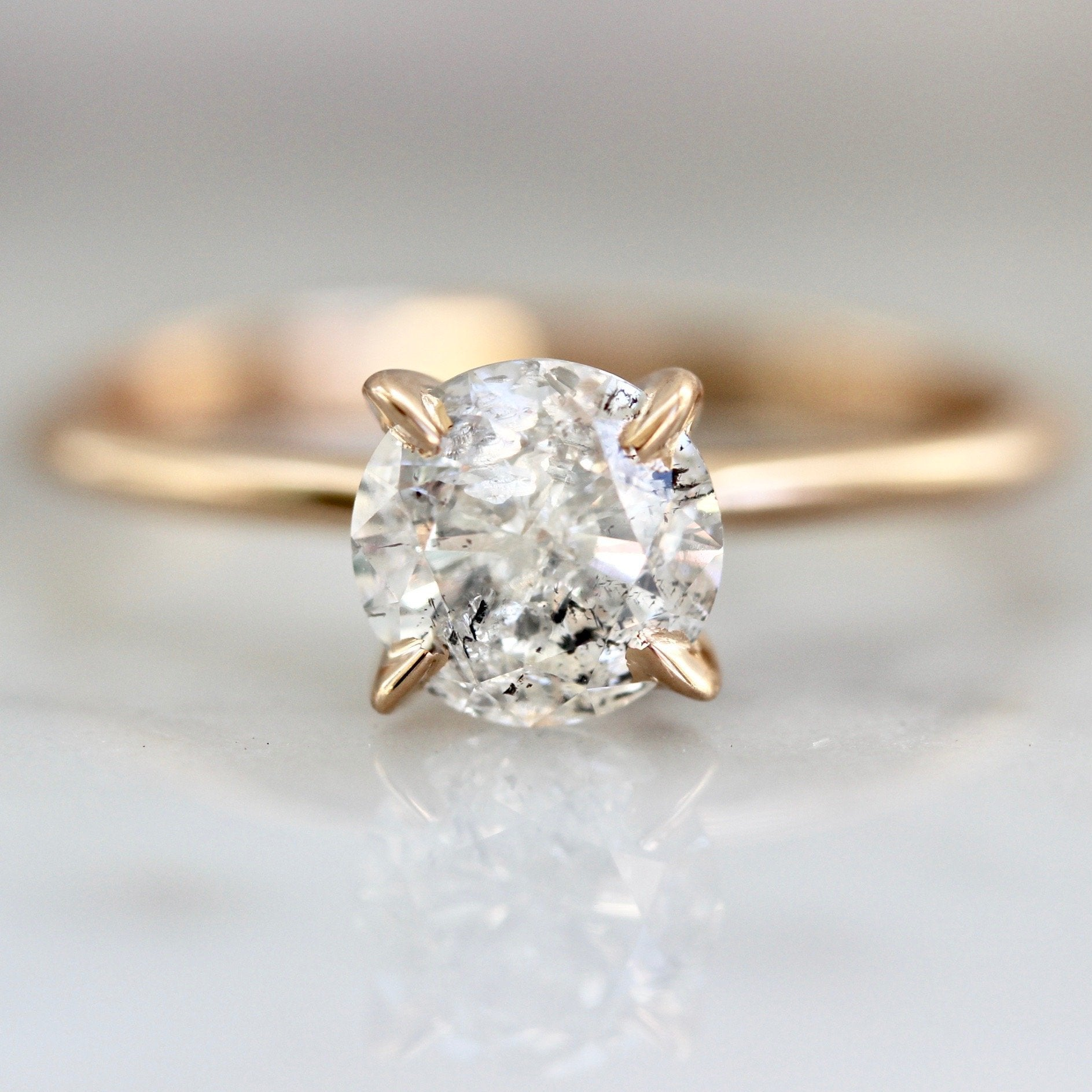 Gem Breakfast Bespoke Ring Current Ring Size 6.5 Ice Stella Diamond Ring