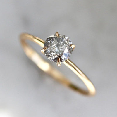 Gem Breakfast Bespoke Ring Current Ring Size 6.5 Salt & Pepper Stella Diamond Ring