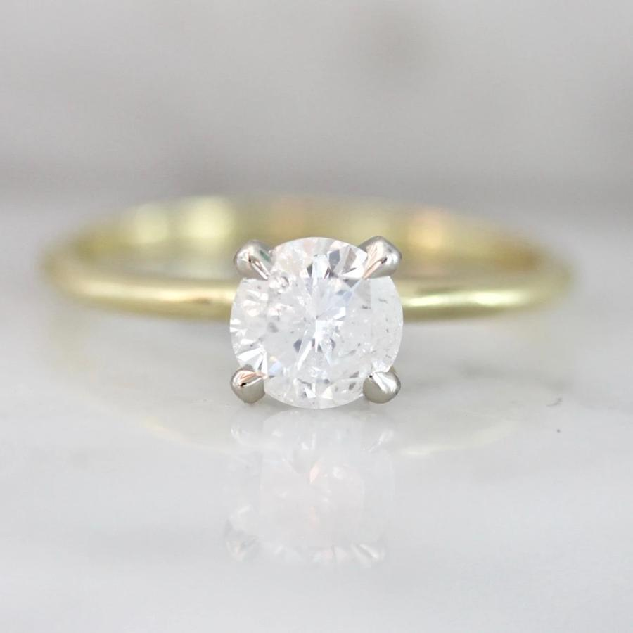 Stella Ice Diamond in Two Tone Gold
