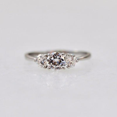 Gem Breakfast Ring Ella Three Stone Diamond Ring