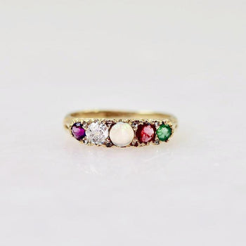 Gem Breakfast Vintage Ring THE ADORE RING