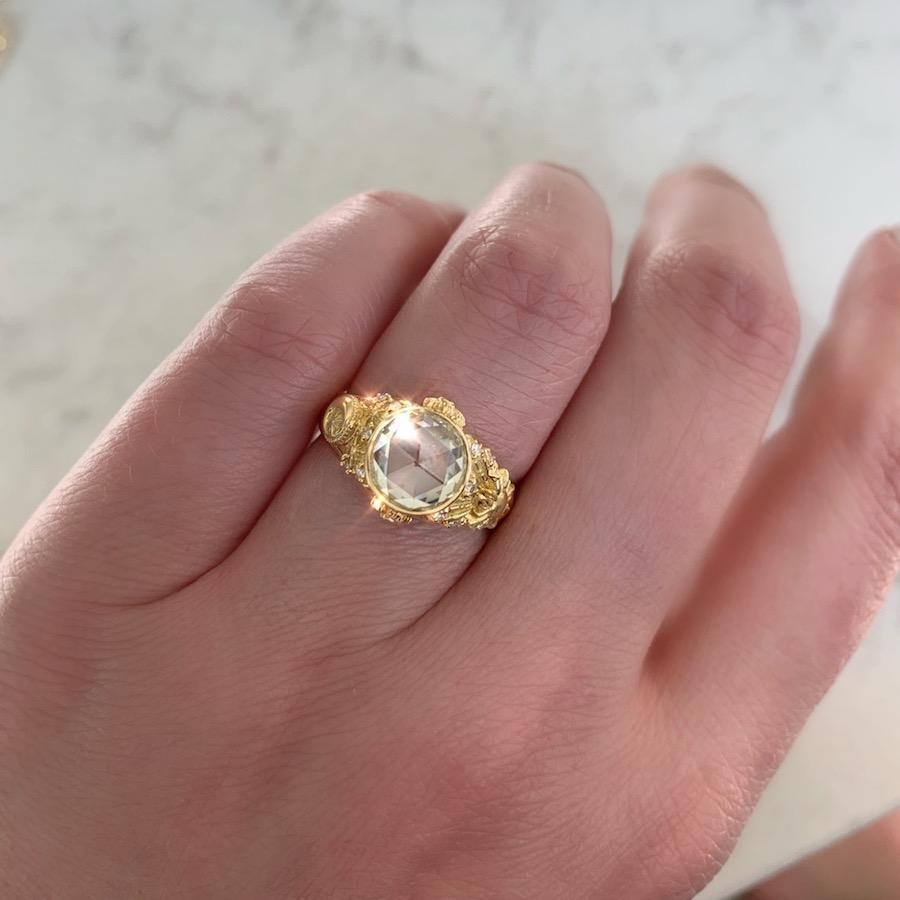Jenny Norman Oracle Rose Cut Diamond Ring