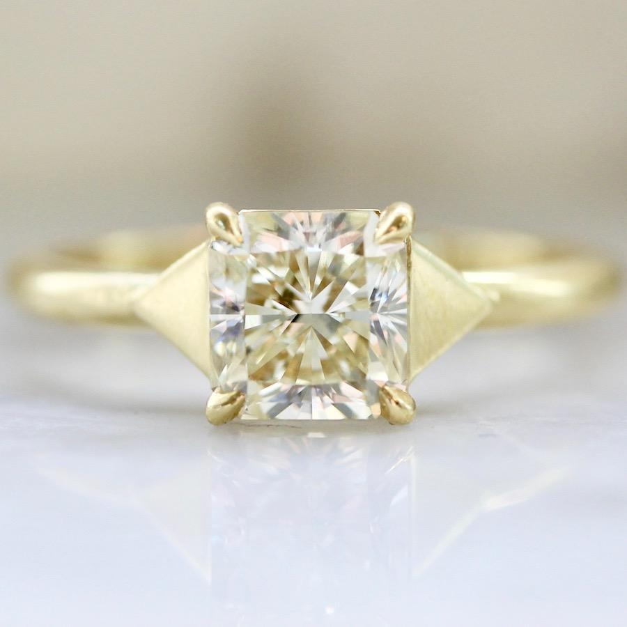 Larisa Lavins Ring Honey Champagne Diamond Ring