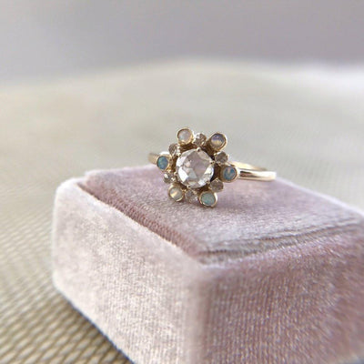 Marrow Fine Marrow Fine Cosmic Rose Cut Diamond Ring