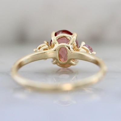 Mason Grace This Is Love Tourmaline & Sapphire Three Stone Ring