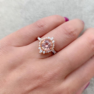 Porter Gulch Ring Belle Morganite Ballerina Ring