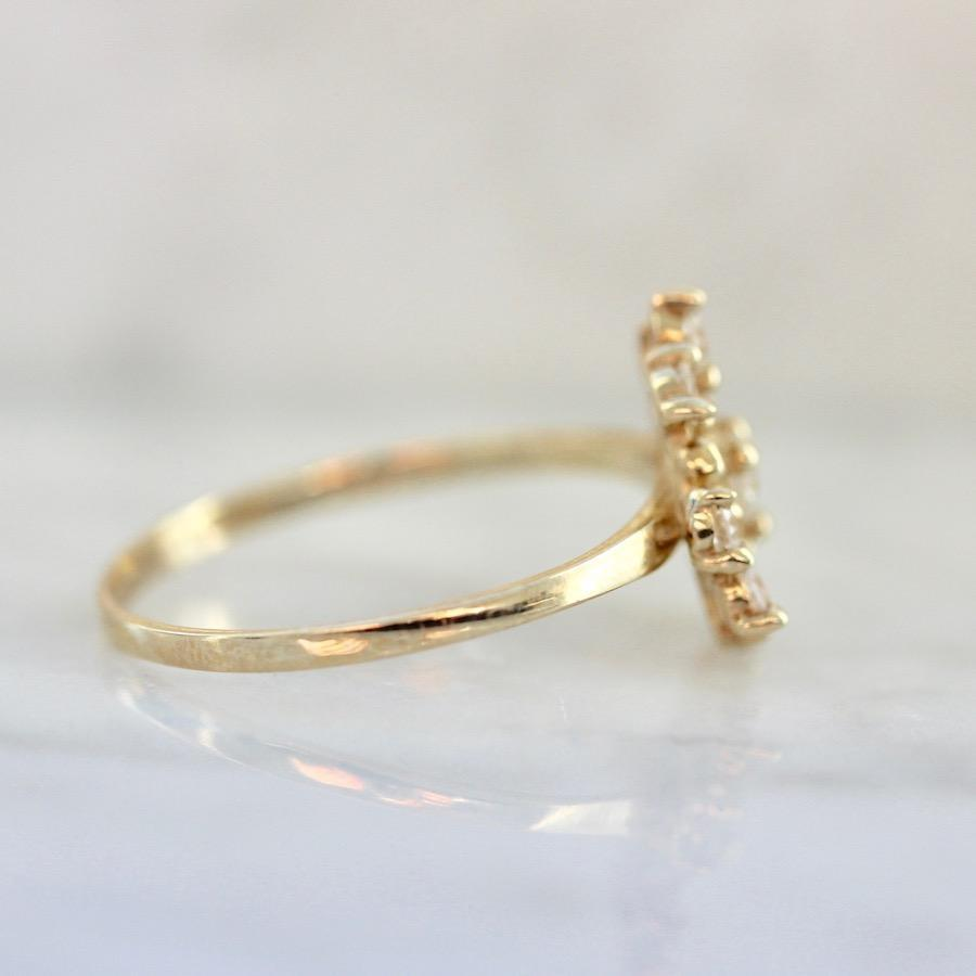 Perfect Ten Diamond Cluster Ring