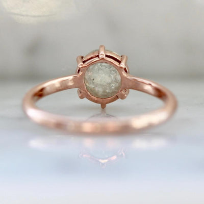 Sonder Fine Jewelry Ring Harmonia Icey Round Rose Cut Diamond Ring
