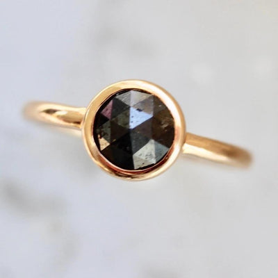 Sonder Fine Jewelry Ring Nyx Black Rose Cut Diamond Ring