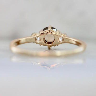 Vale Jewelry Ring Tidals Champagne Rose Cut Diamond Ring