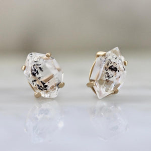 Yuliya Chorna Earrings Aurelia Herkimer Diamond Earrings