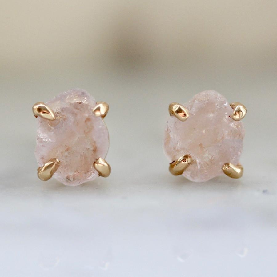 Yuliya Chorna Earrings Georgie Pink Sapphire Earrings