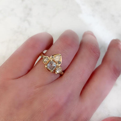 Yuliya Chorna Ring Bali Babe Ice Diamond Ring