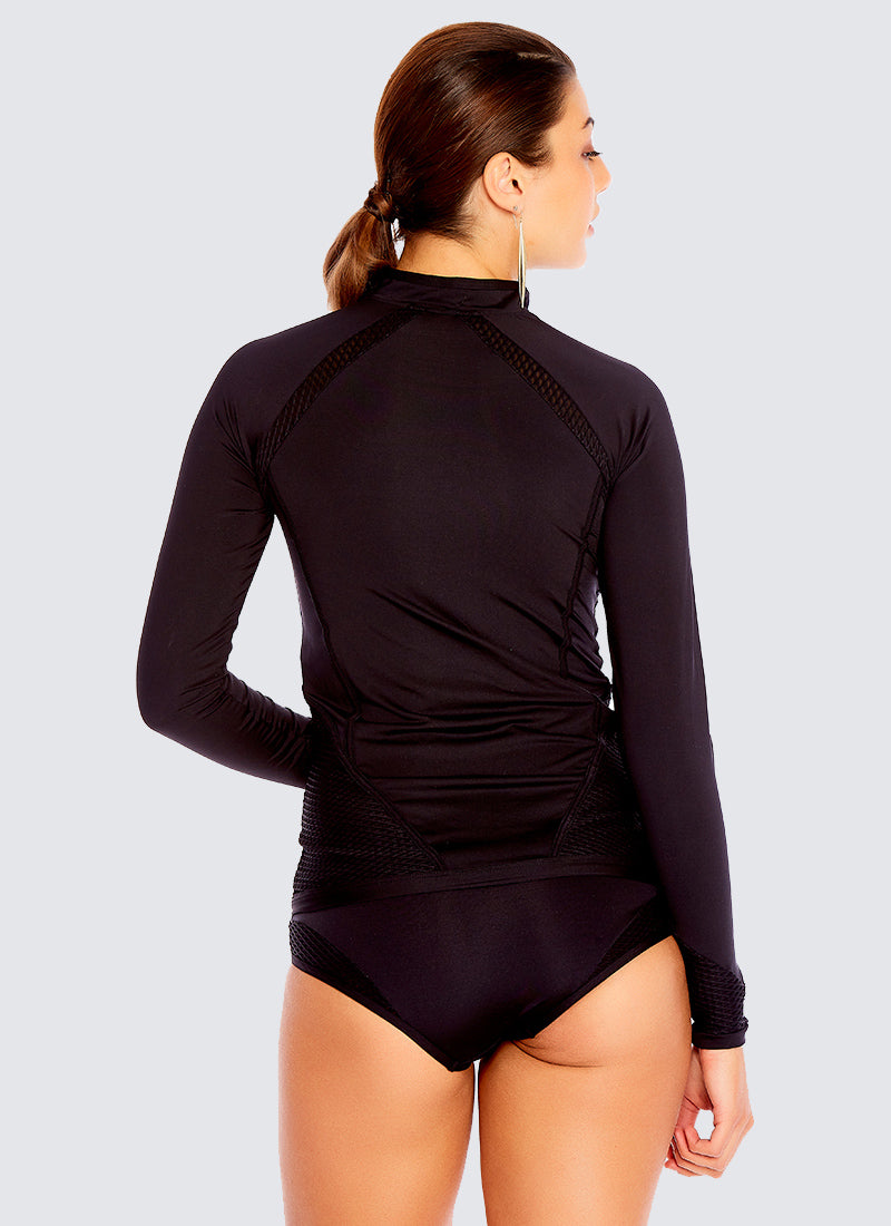 Back To Basics Rash Guard