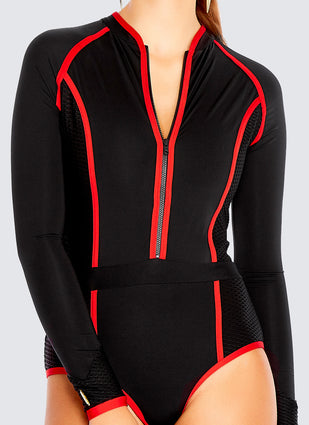 Back To Basics Sportopia One Piece - Raven