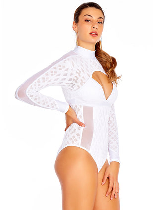 Luxe Sheer One Piece