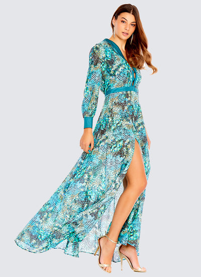 Divinity Long Sleeve Dress