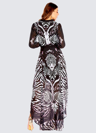 Primal Long Sleeve Dress