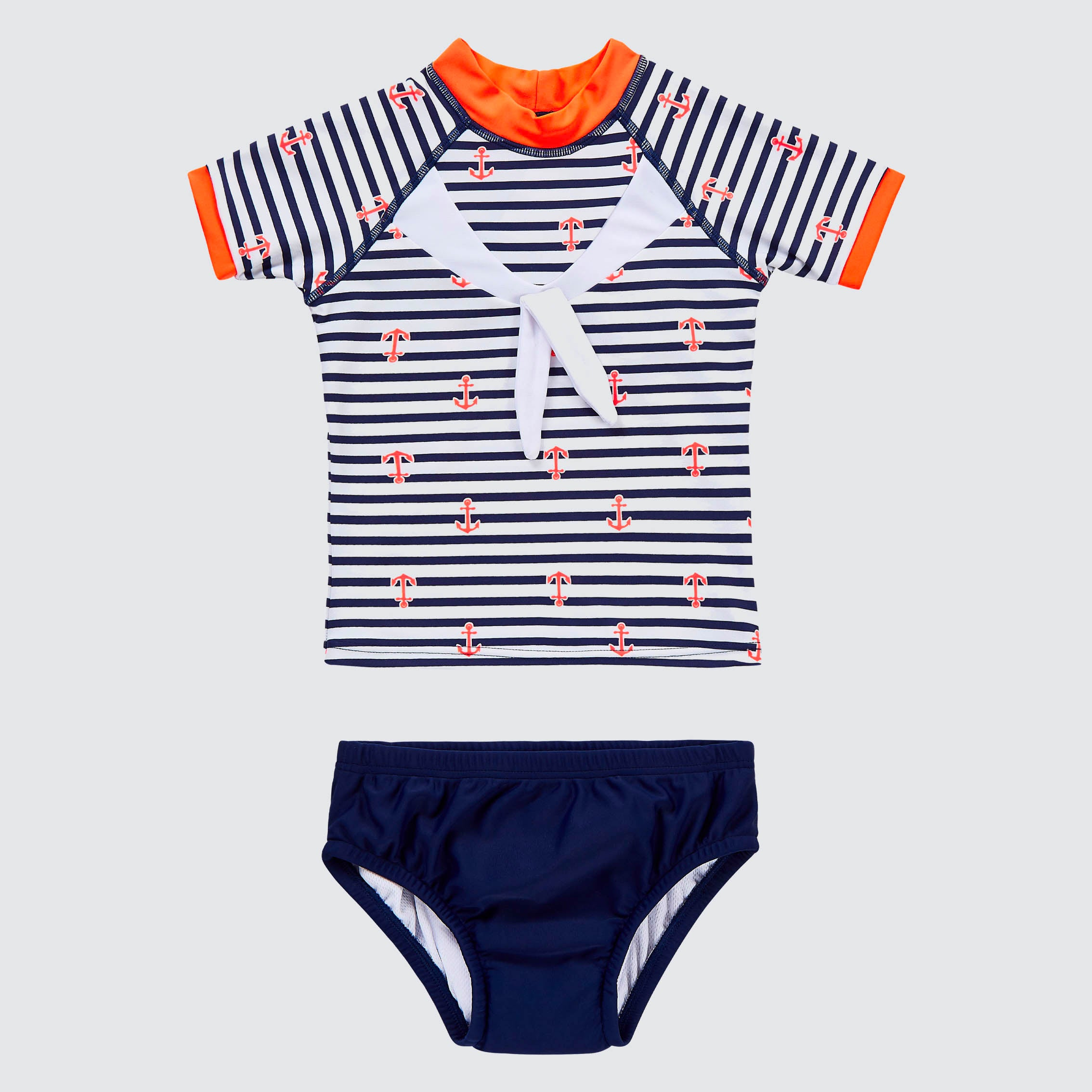 Explorer Rashie and Swim Nappy Set