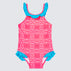 Raspberry Daze Frill One Piece