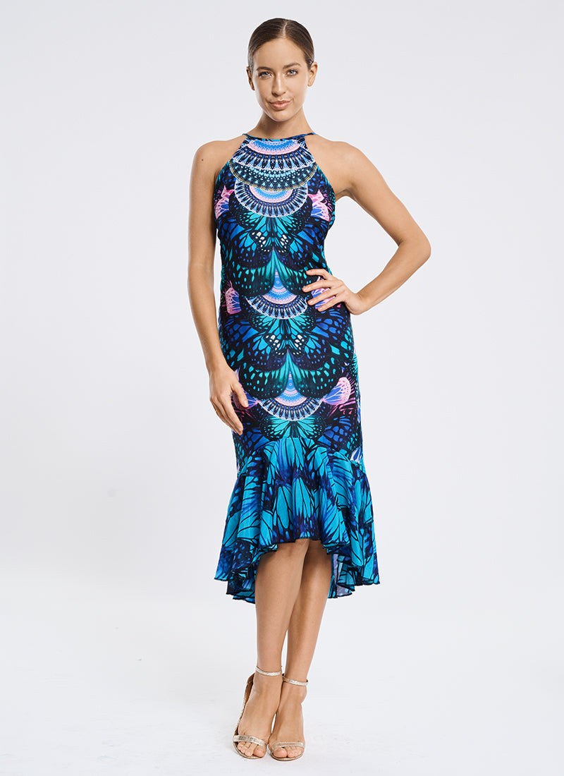 Euphoria High Neck Dress