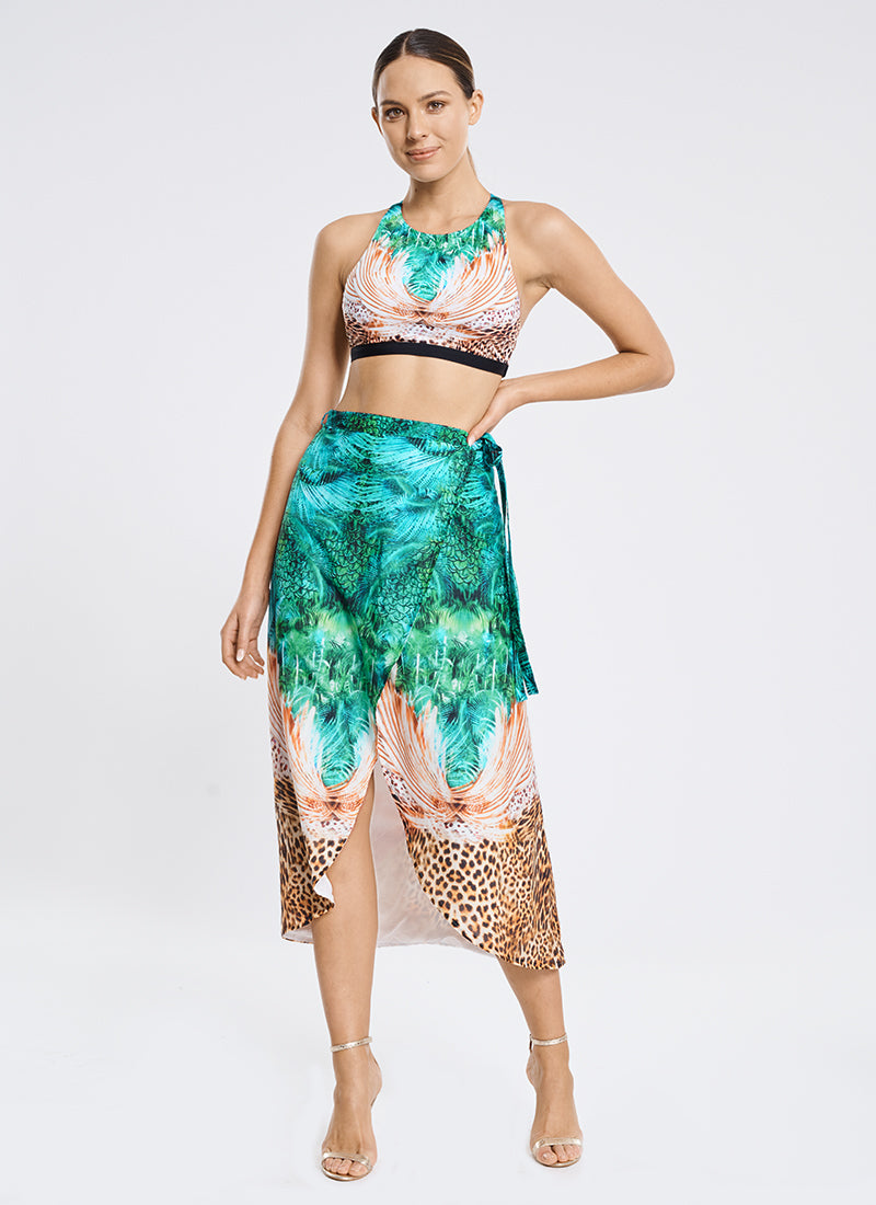 Elysian Wrap Skirt