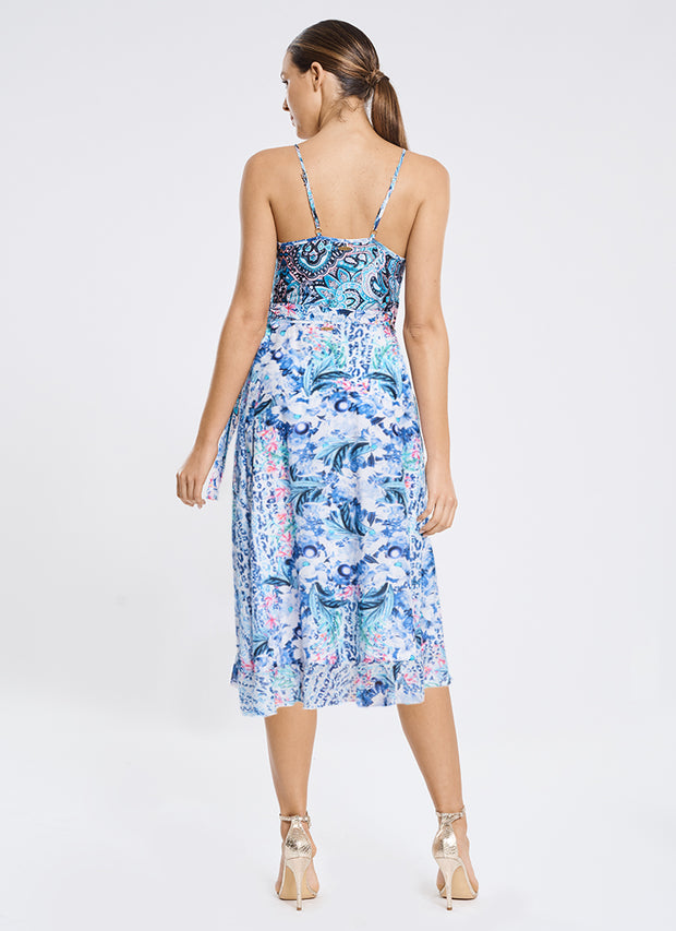 Babylon Frill Wrap Dress