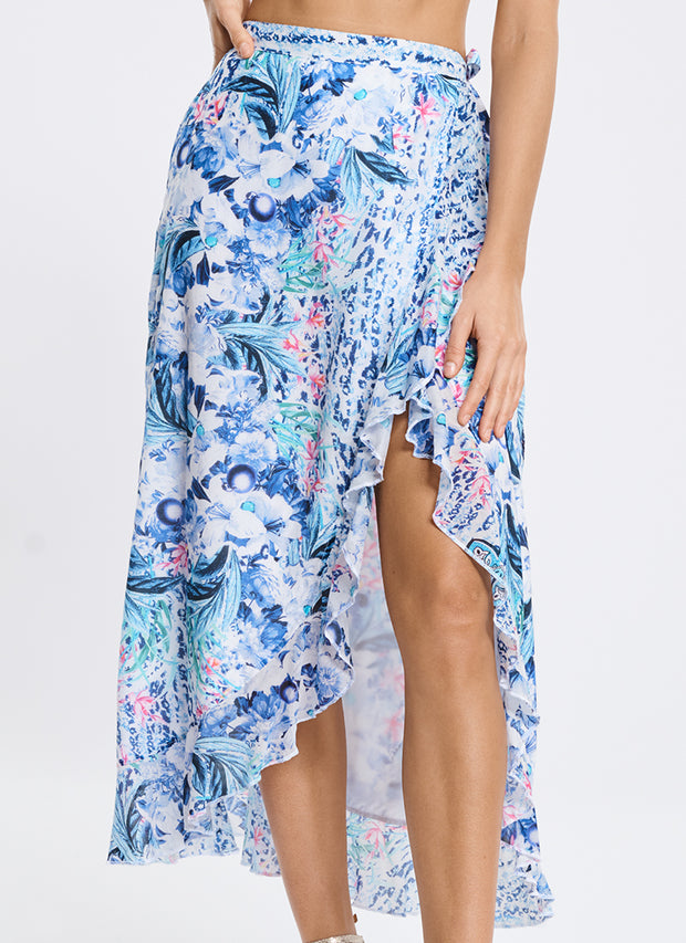 Babylon Frill Wrap Skirt
