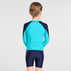 Building Blocks Long Sleeve Rash Vest