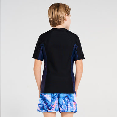 Building Blocks Short Sleeve Rash Vest
