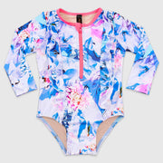 Magnolia Frill Long Sleeve One Piece