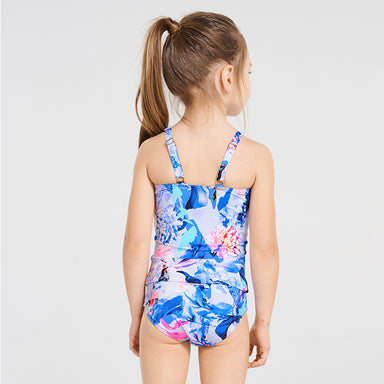 Magnolia High Neck Tankini Set