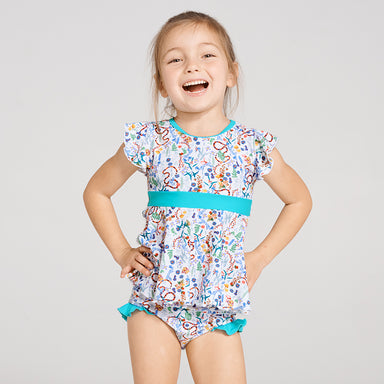 Woodlands Frill Tankini Set