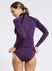 Plum Rash Guard