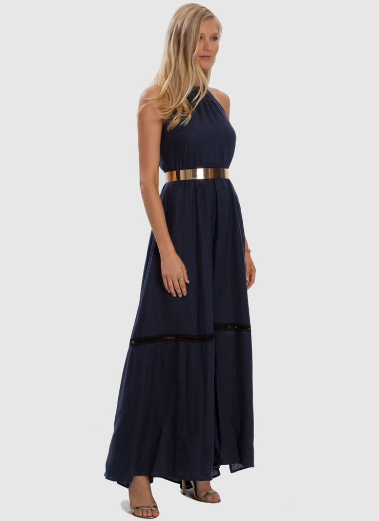Serenity Apollo Maxi Dress - Admiral