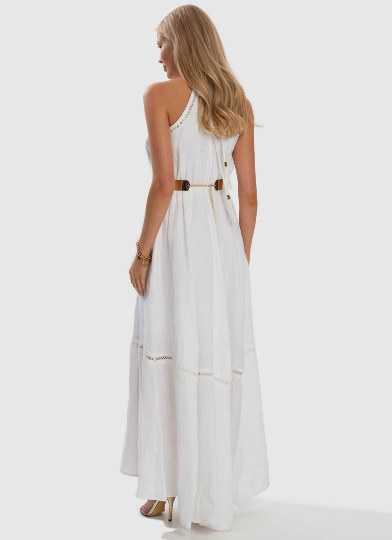 Serenity Apollo Maxi Dress - White