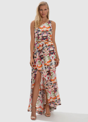 Delilah Medea One Shoulder Dress