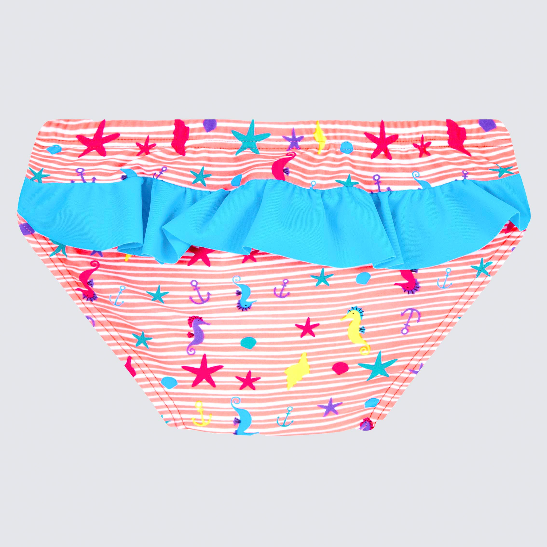 Cupid Girl Beach Buddies Frill Swim Nappy